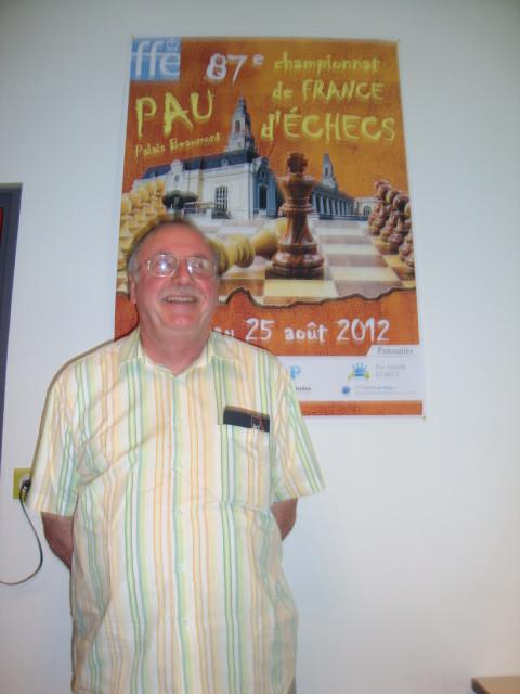 JMarc Morel, Président de Pau Sarrailh
