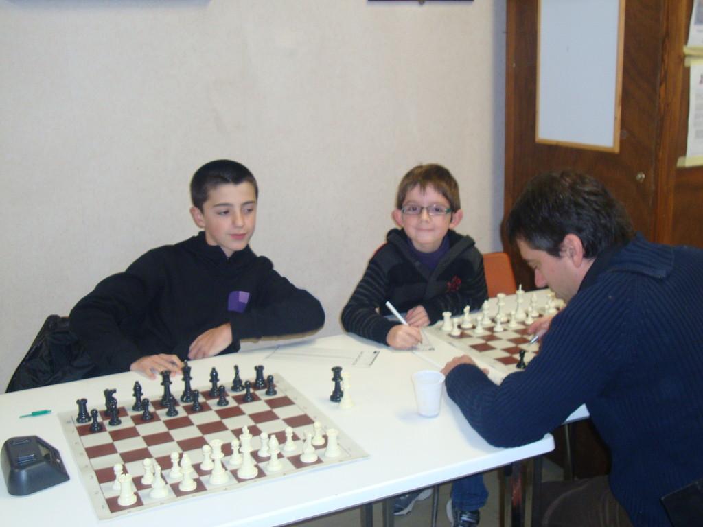 Guillaume et Clément à la Coupe Loubatière 2012