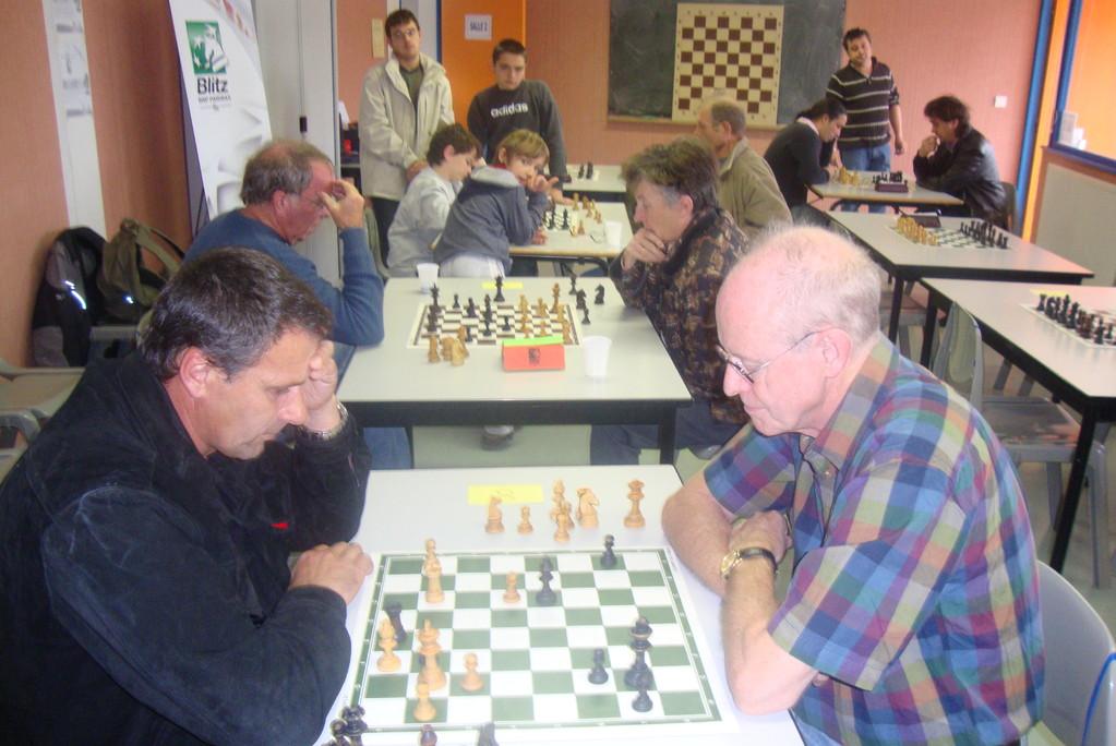 David et Mirzet au Tournoi Blitz 2011