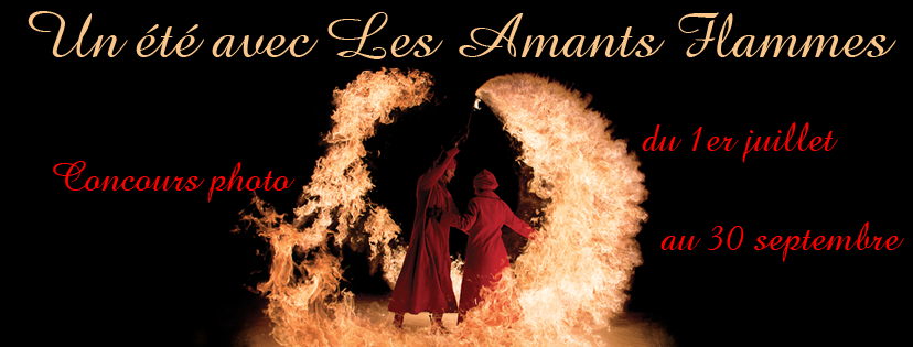 spectacle de feu, attrap'lune