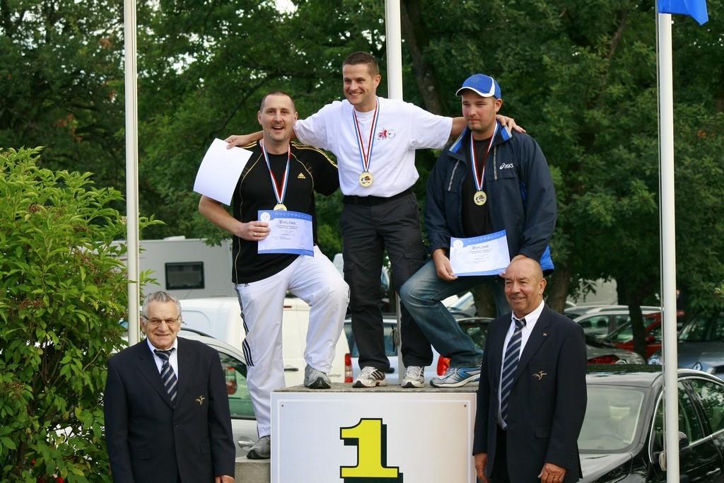 Mikael Reau Médaillé d'argent Double Trap