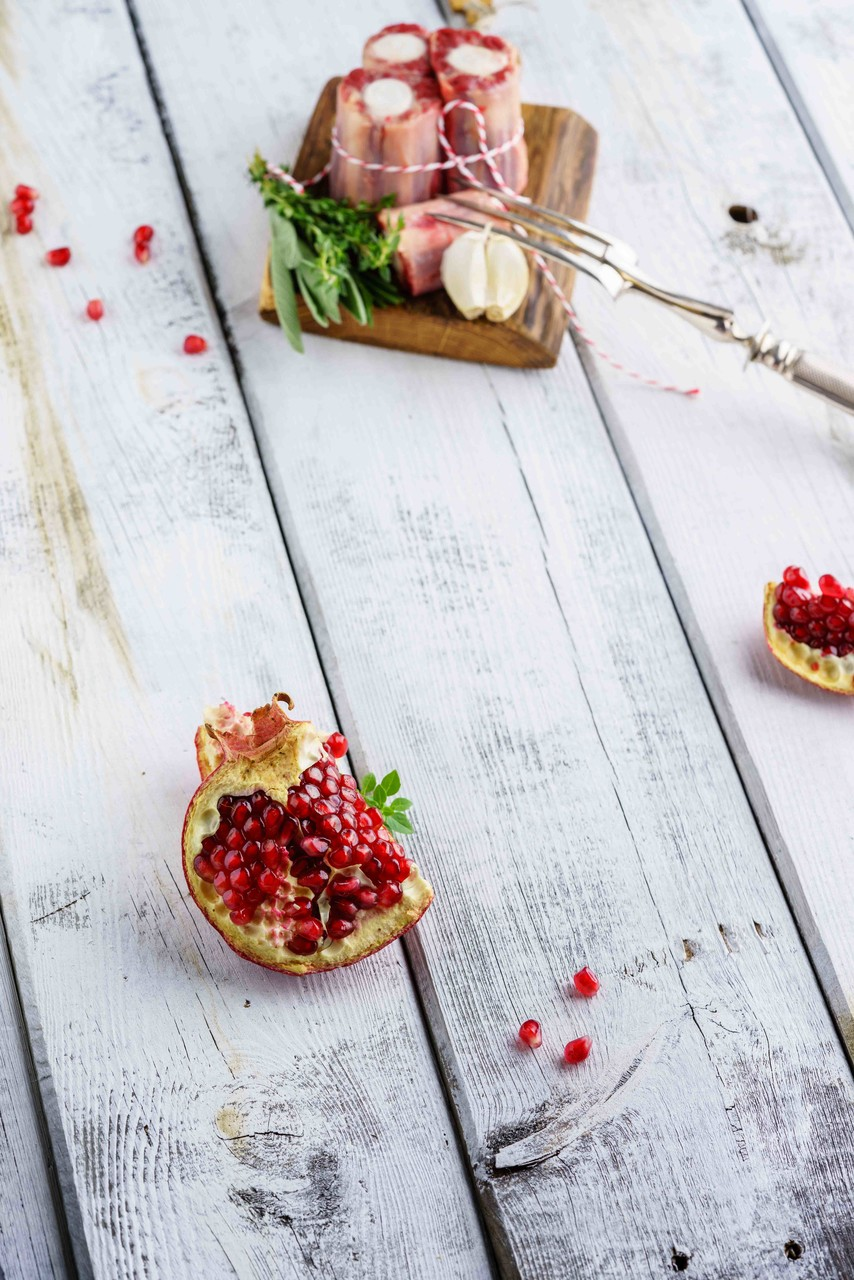 Food-Fotografie Granatapfel