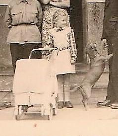 Meine Puppe Franzi aus Amerika wurde wegen ungezogenen Verhaltens durch Hildegard ersetzt