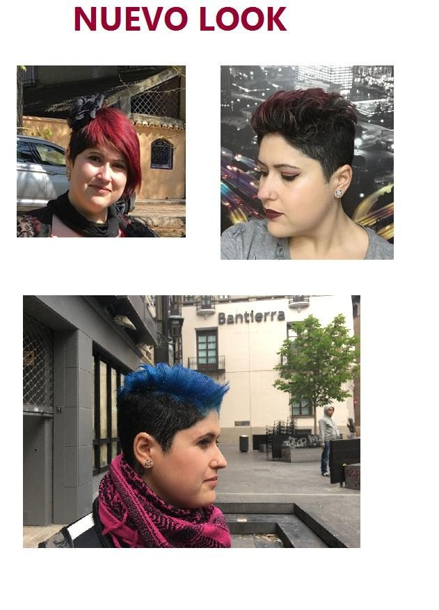 Cambio radical en dos pasos corte y color.