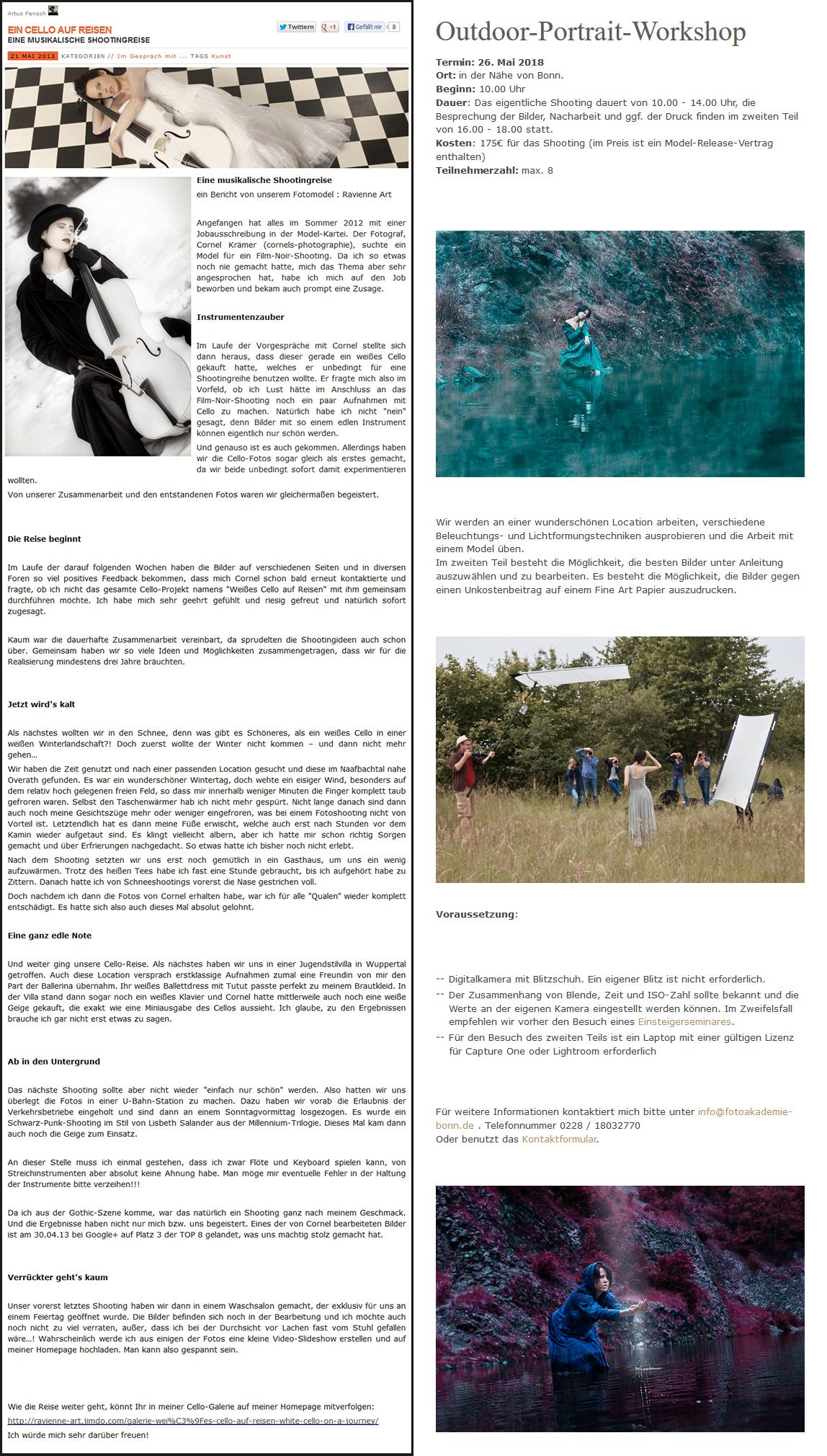 kulturarche.de & fotoakademie-bonn.de