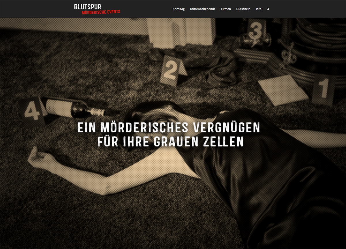 www.blutspur.de
