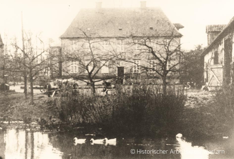 Rittergut Haus Ahse, um 1900