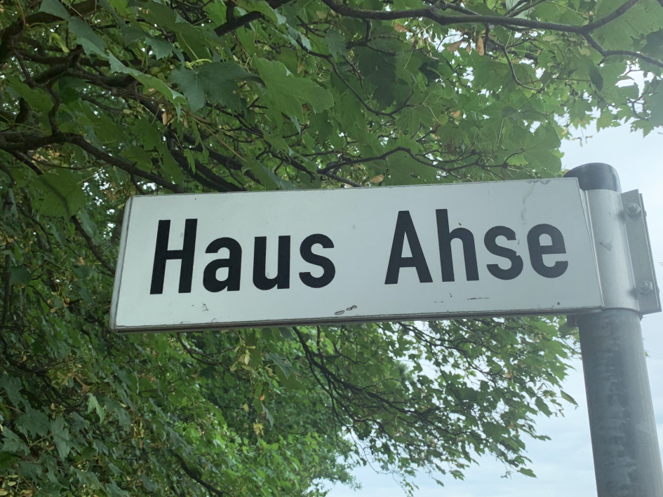 Einfahrt Rittergut Ahse
