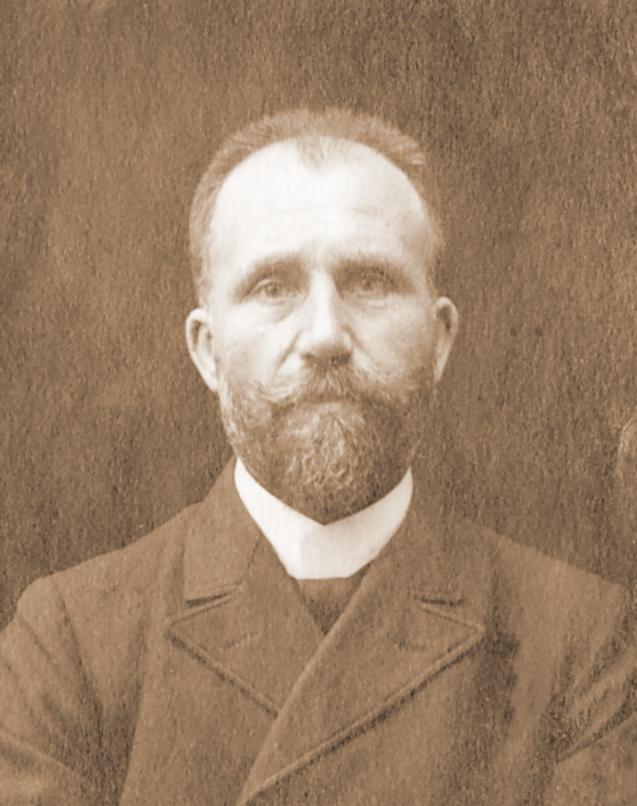 Wilhelm Steinhoff zur Ahse – der Vater von Erna Heinen Steinhoff (1869-1936) , ca. 1900