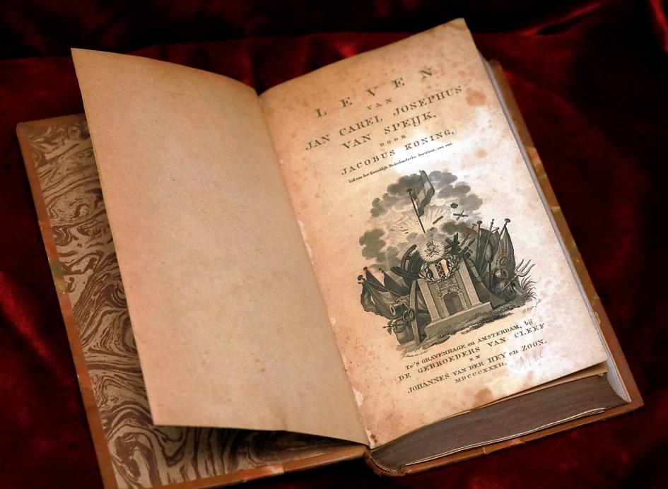 Biographie über Van Speijk, 1832