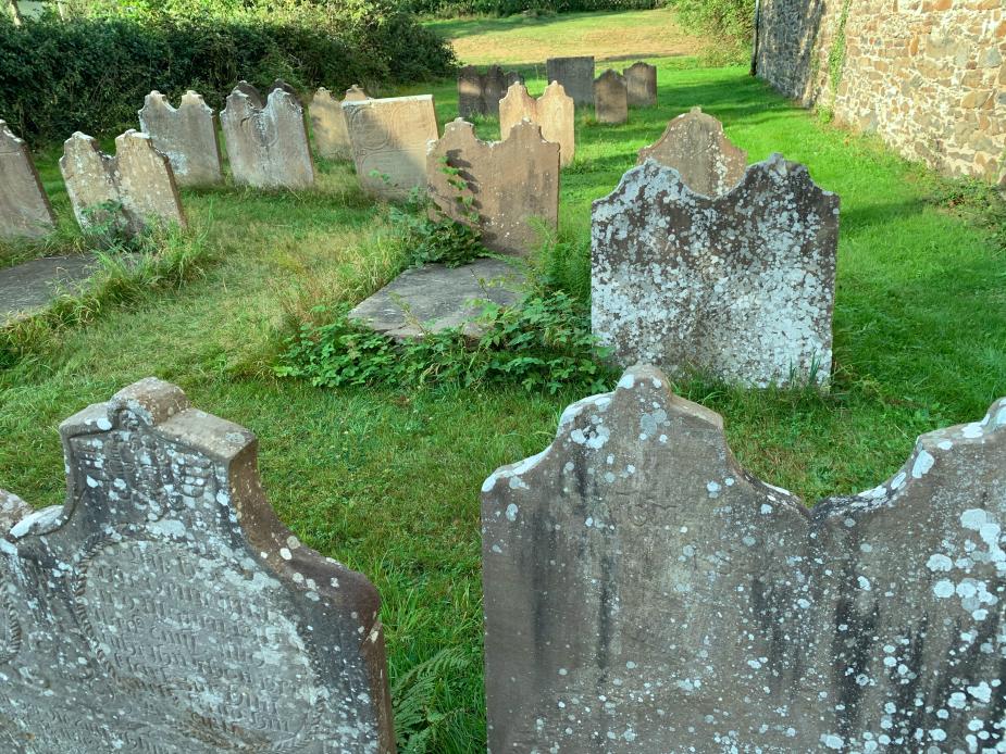 Alter Friedhof in Unterburg
