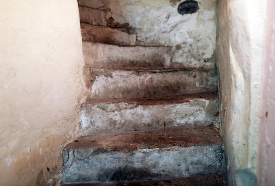 m historischen Treppenhaus des Schwarzen Hauses - Im Trakt aus dem XVIII Jarhundert, Zustand 2020