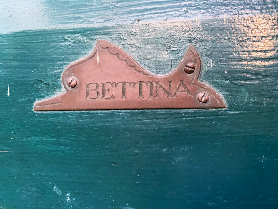 Türschild von Bettina Heinen-Ayech