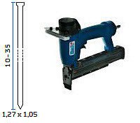 Pneumatski alat - pištolj za čavliće za ustakljivanje BeA SK335-201 GL