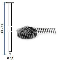 BeA šaržirani čavli tip DPN