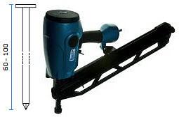 Pneumatski alat - pištolj za čavle BeA R100-952