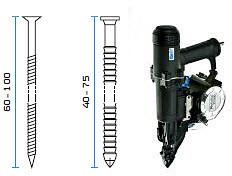 Pneumatski alat - pištolj za čavle BeA TC 300