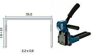 Mehanićka klamerica - mehanićki alat za klamerice BeA MT-A-22
