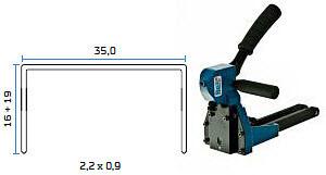 Mehanićka klamerica - mehanićki alat za klamerice BeA MT-A-18
