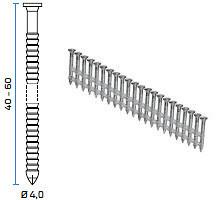 BeA šaržirani čavli tip R20 Anker