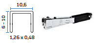 Mehanićka klamerica BeA R11