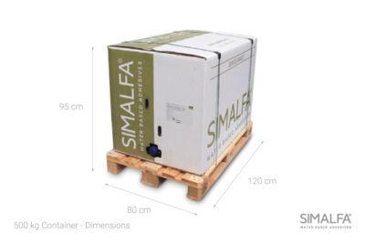 500 kg pakiranje