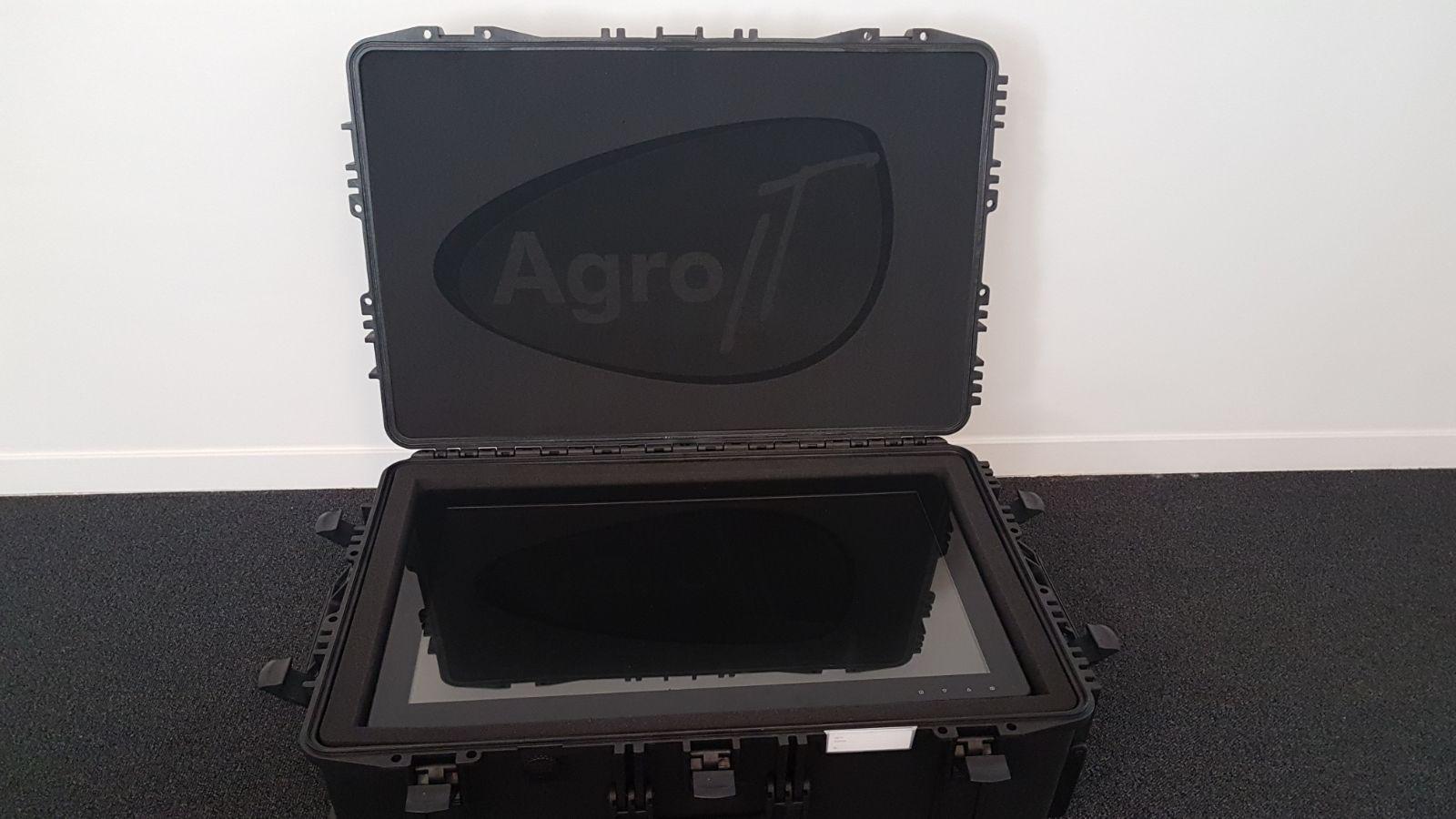 Koffer op maat monitor