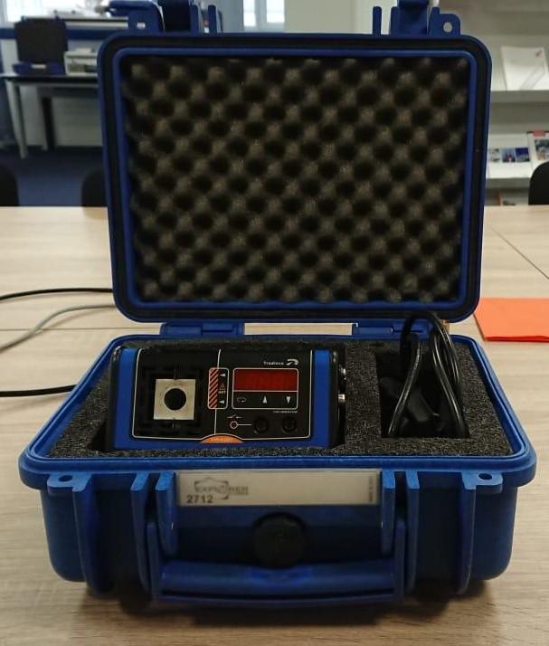 Koffer op maat meetinstrument