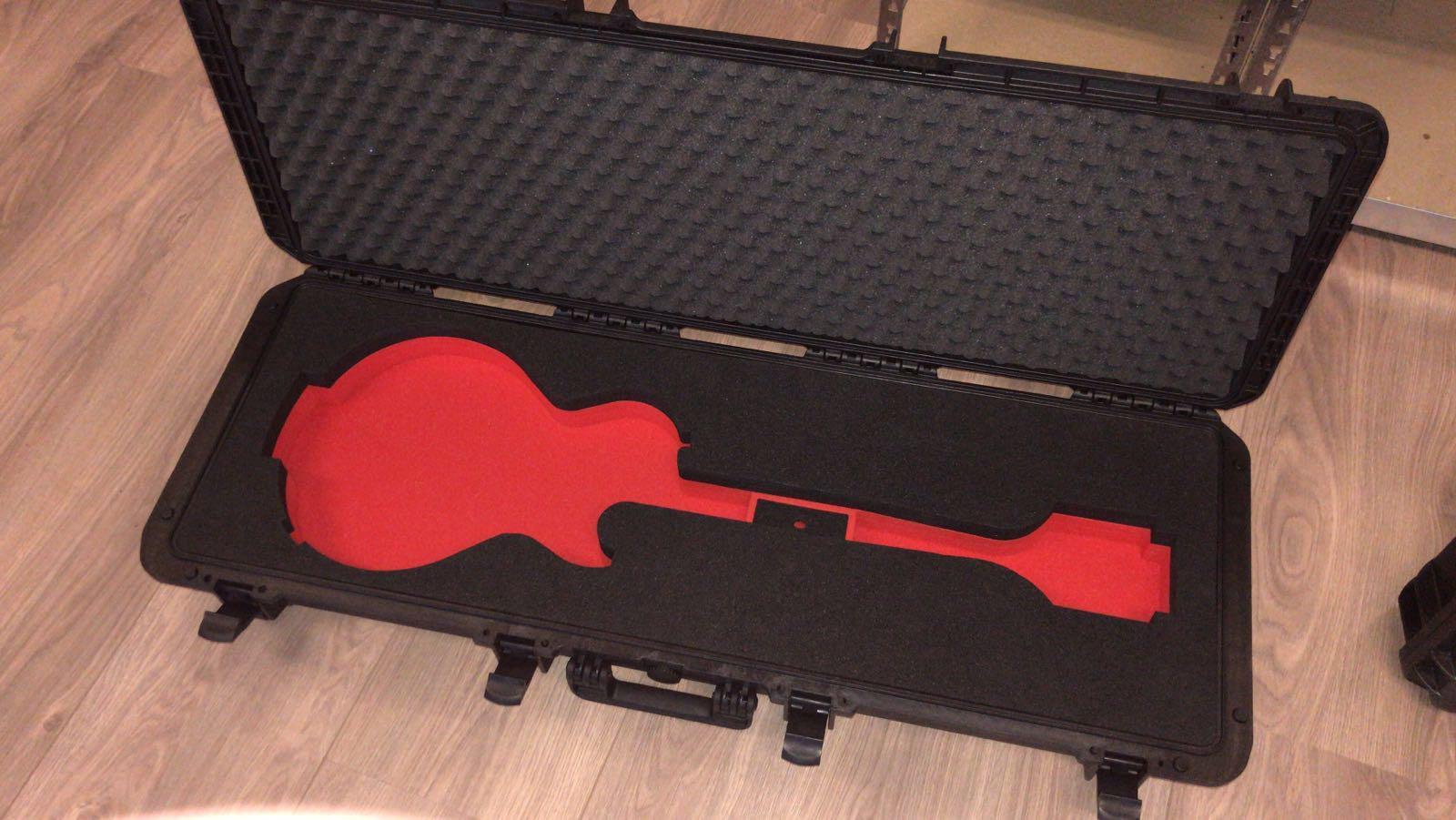 Koffer op maat gitaar