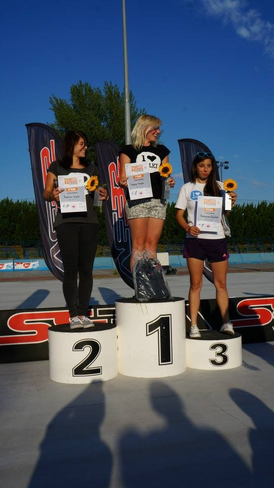 Women's Jumps podium / Credit : SlalomTimTeam