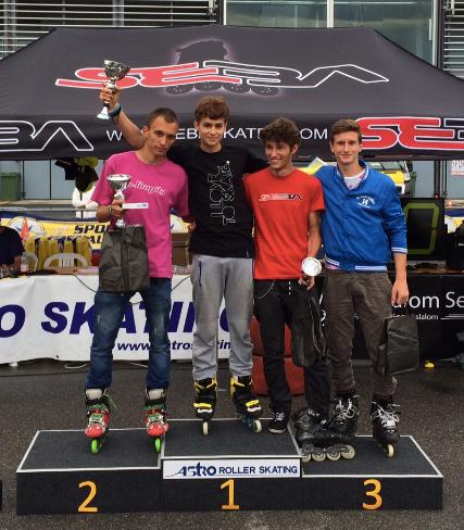 Men's podium / Credit: JM. Aublanc-Piolot