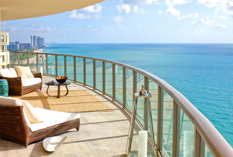 The St. Regis, Bal Harbour Penthouse Balcony