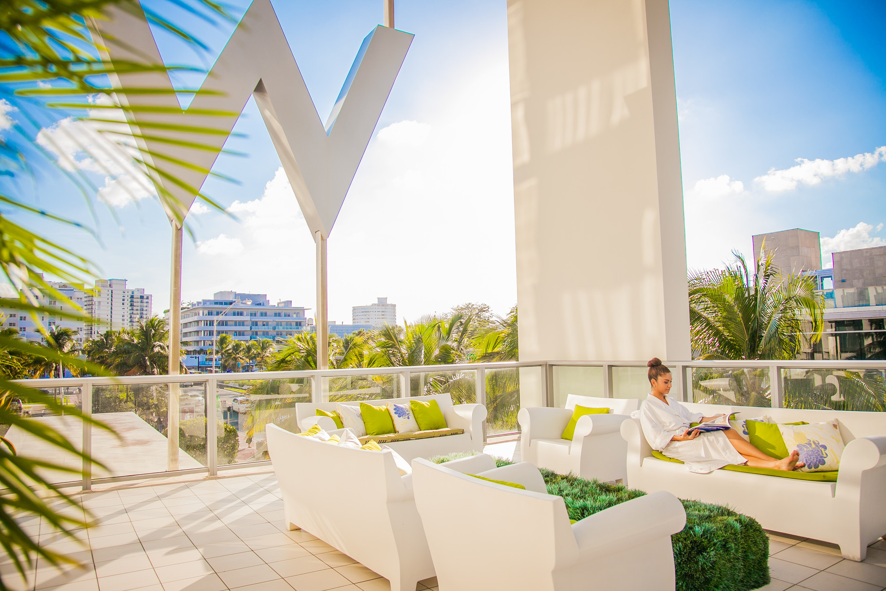 W South Beach Spa Terrace