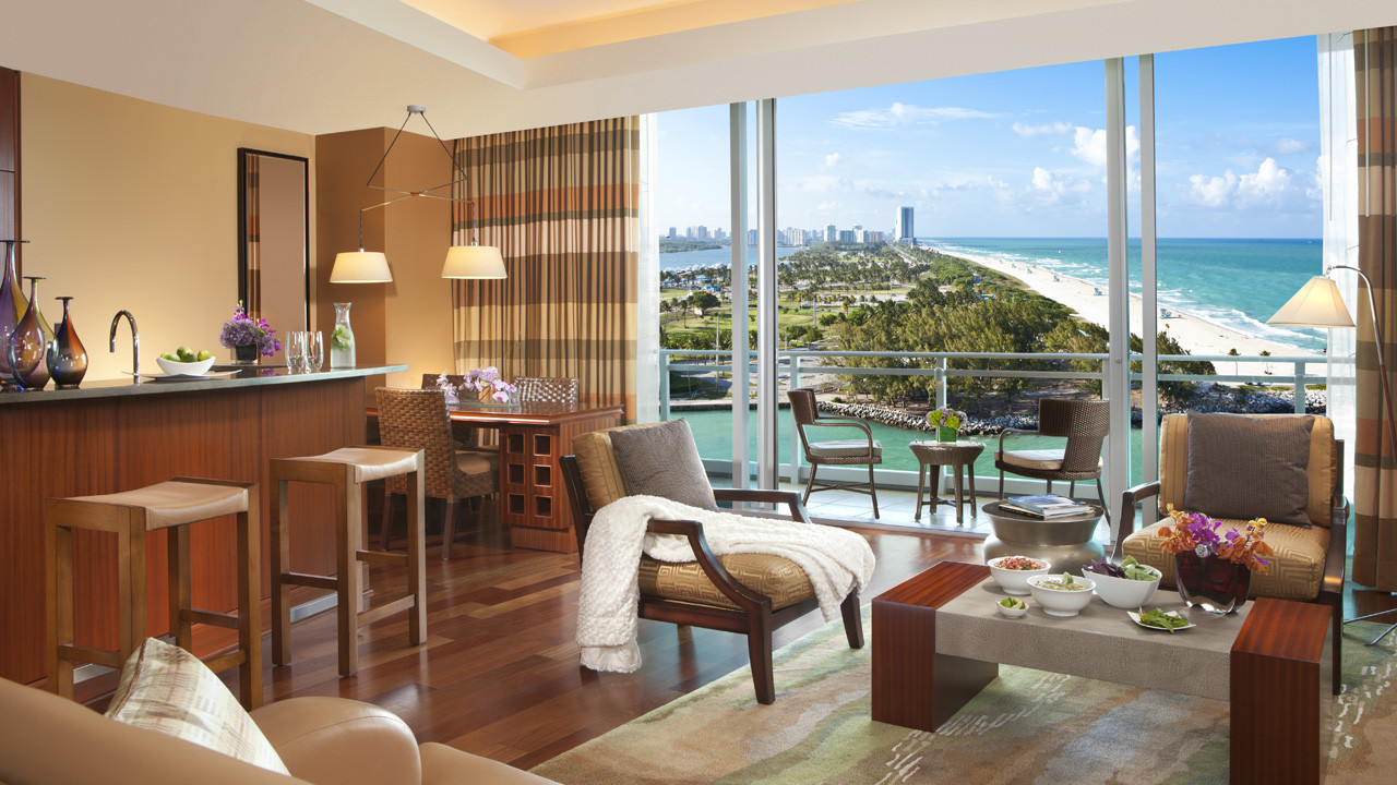 The Ritz-Carlton, Bal Harbour One Bedroom Ocean View Suite
