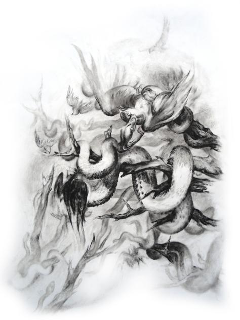 Matthias-Wyss-Gouache-On-Paper-2009–2010-50X70Cm