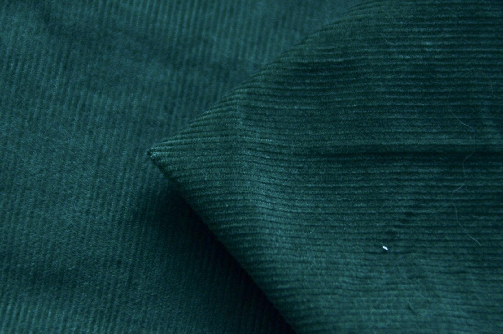 Feincord grün