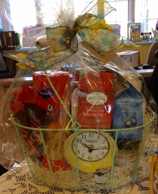 The Tea Basket, won by Penny Levert