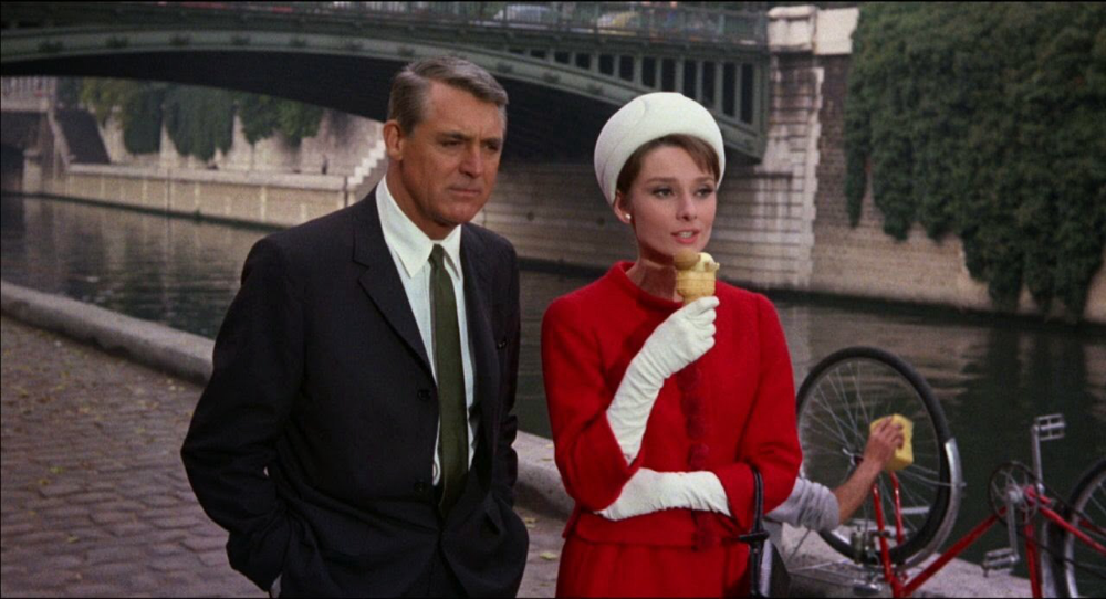 Cary Grant & Audrey Hepburn in Charade