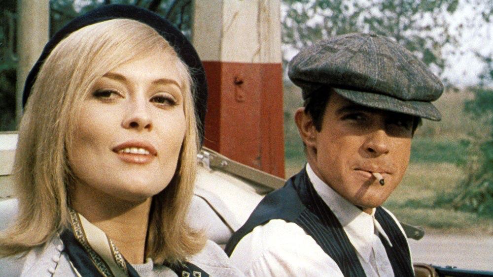 Faye Dunaway & Warren Beatty in Bonnie & Clyde