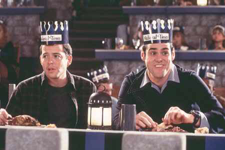 Matthew Broderick & Jim Carrey in The Cable Guy