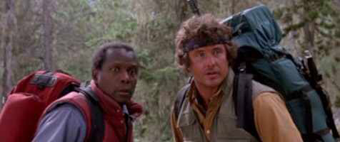 Sidney Poitier & Tom Berenger in Deadly Pursuit