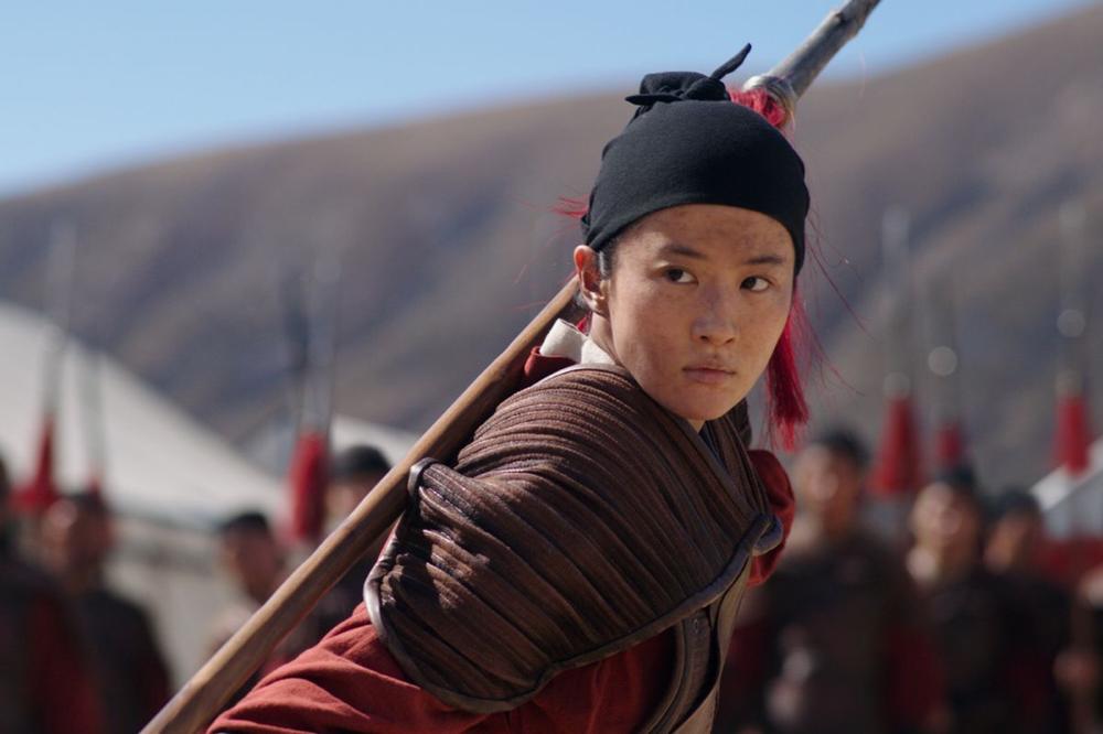 Yifei Liu in Mulan
