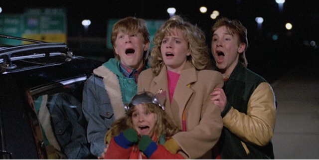The cast of Adventures In Babysitting