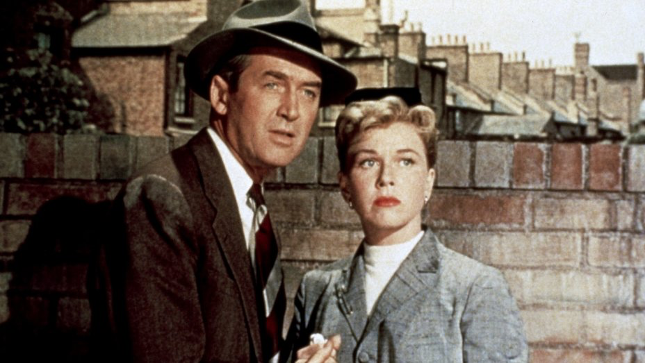 James Stewart & Doris Day in The Man Who Knew Too Much