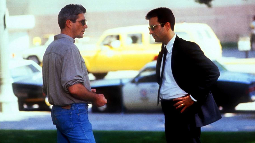 Richard Gere & Andy Garcia in Internal Affairs