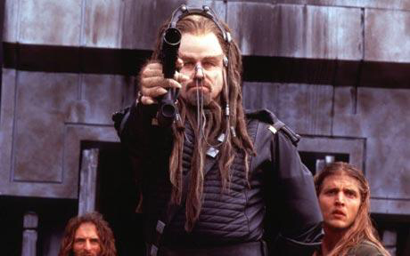 John Travolta in Battlefield Earth