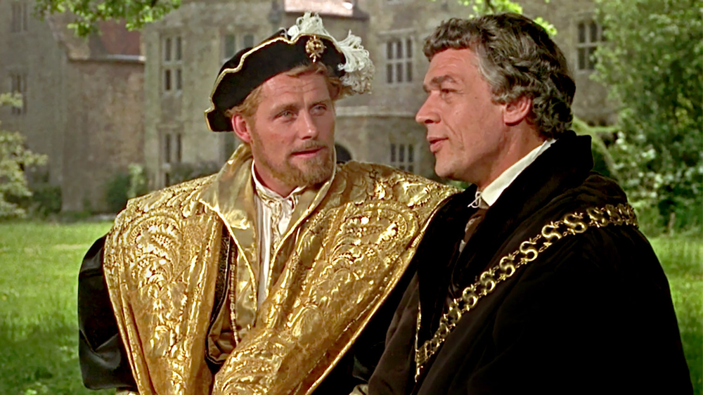 Robert Shaw & Paul Scofield in A Man For All Seasons