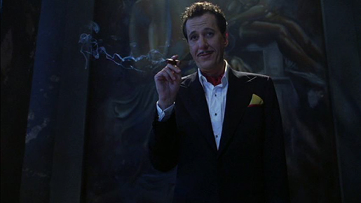 Geoffrey Rush in House on Haunted Hill