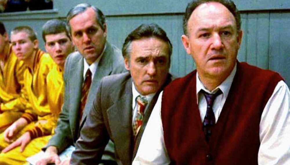 The cast of Hoosiers