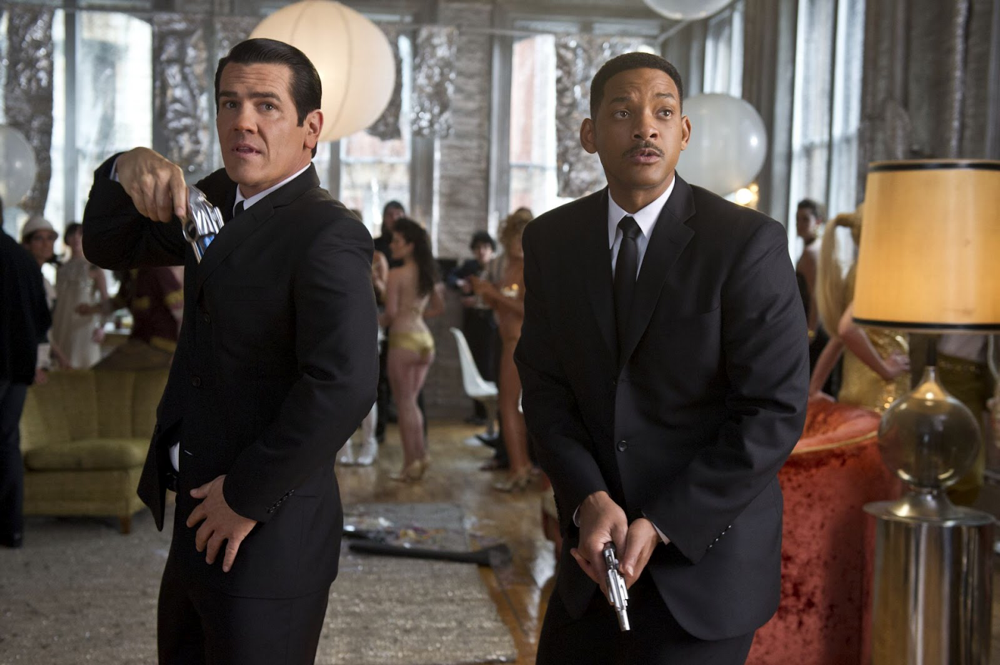 Josh Brolin & Will Smith in Men in Black 3